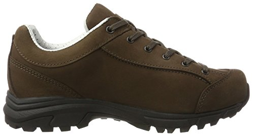 Hanwag Valungo Bunion, Scarpe da Arrampicata Basse Donna Marrone (Erde_brown)