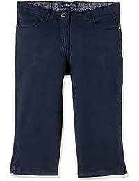 Allen Solly Junior Girls' Slim Fit Cotton Trousers