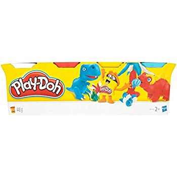 Play-Doh Hasbro C3898EU4/6-Pack Basic Colors,