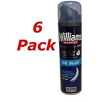 WILLIAMS Ice Blue Espuma de afeitar 250ML. Pack de 6