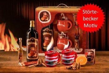 Preisvergleich Produktbild Feuerzangentasse Geschenkset,  Feuerzangenbowle,  Glühwein (Störtebeker)