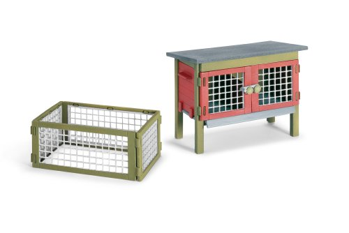 Imagen principal de Schleich 42019. Accesorio jaula para conejos de Juguete