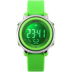Amstt Kids Watches Children Boys Outdoor Sports Digital Analog Watch Digitale Watch LED Alarm Stopwatch