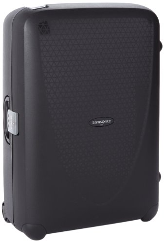Samsonite Suitcase Termo Young, 75 cm, 88 L, Black, 53390-1041 (Spinner Leichtes Hartschalen)