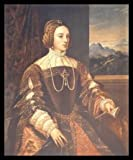 Tizian Isabella von Portugal Poster Kunstdruck Lichtdruck