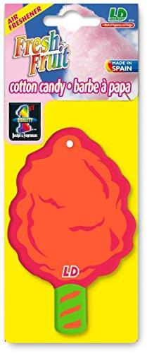 Preisvergleich Produktbild Fresh Fruit Papier Lufterfrischer Autoduft - Cotton Candy Zuckerwatte