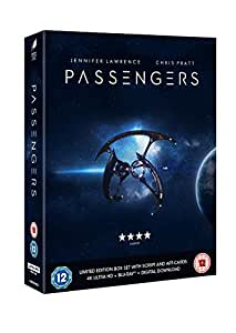 Passengers - Limited Edition Box Set with Script & Postcards[2 Disc 4K Ultra HD + Blu-ray] [2017]