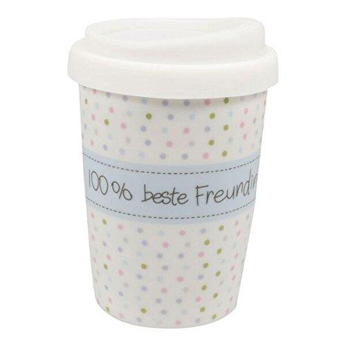 Mea-Living Coffee to go Becher klein'100% beste Freundin'