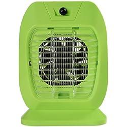 GUO - lámpara de mosquito, casa sin radiación mute restaurante interior mosquito choque eléctrico, photocatalyst llevó bebé dormitorio mujer embarazada Anti-mosquito lámpara / (18.5 * 25CM) (verde)