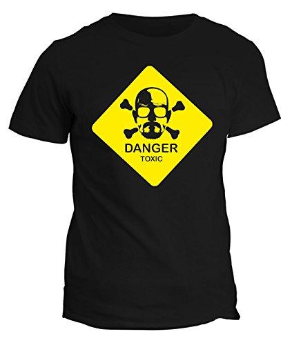 Tshirt breaking bad - toxic- serie tv - heisemberg walter white meth - t-shirt uomo donna bambino