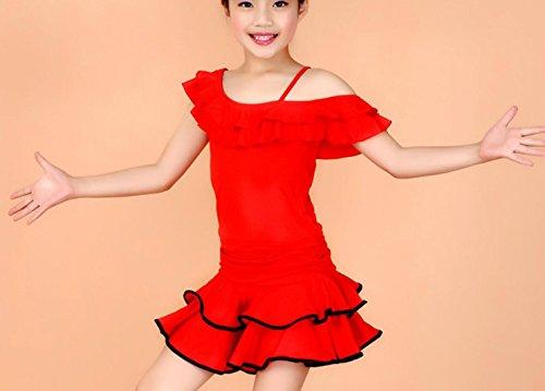 ädchenkleidung und Tanzkostüme Theatrical Costume, 130cm, red (Theatricals Tanz Kostüme)