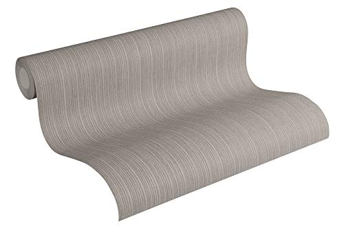 Michalsky Living Vliestapete Dream Again Tapete Unitapete 10,05 m x 0,53 m grau beige braun Made in Germany 364996 36499-6