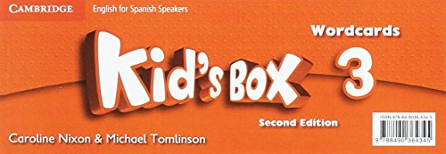 Kid's Box for Spanish Speakers  Level 3 Wordcards 2nd Edition - 9788490364345