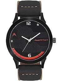 Arzent Fiarti Black Dial Brown Belt Analog Watch For Men's & Boy's - AF1032