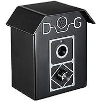 Hamkaw Anti - Ladridos Ultrasonidos Dispositivo para Perros Impermeable, Control Ultrasónico de Ladridos para Perro, Seguro Rango hasta 15m, Adecuado para Uso en Lnteriores y Exteriores