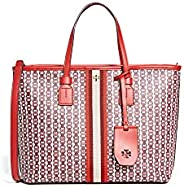 Tory Burch Women Gemini Link Canvas Small Tote Tote Bag (pack of 2)