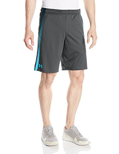 Under Armour Damen UA Tech Mesh Shorts Tank, Stealth Gray, L (Tank Tech Mesh)