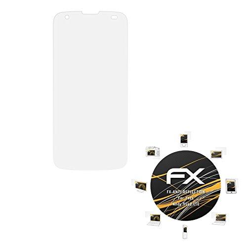 atFolix Panzerfolie kompatibel mit Yezz Andy 5EL2 LTE Schutzfolie, entspiegelnde & stoßdämpfende FX Folie (3X)
