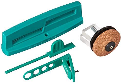 Multi-Sharp 1801 Gartenwerkzeug Messerschärfer-Set für Kreisel-Rasenmäher, Gartenscheren, Astscheren, Rosenscheren und Scheren