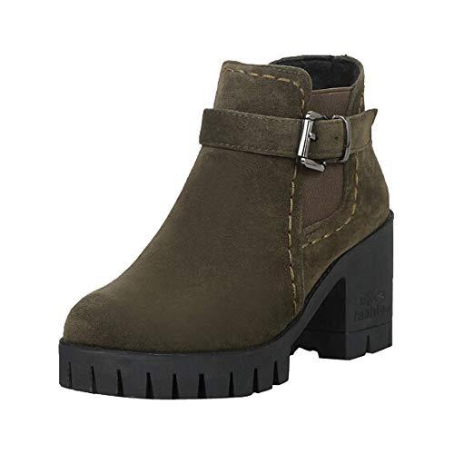 Bazhahei donna scarpa,ragazza stivali corto tubo scamosciato stivali tacco spesso,invernali/autunno tacchi alti scarpe singole stivaletti shoes con tacco basso stivale,boots moda da donna