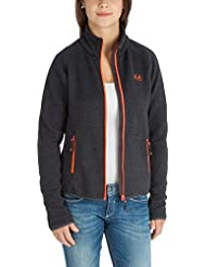 Ultrasport Damen Strickfleece Jacke Snug