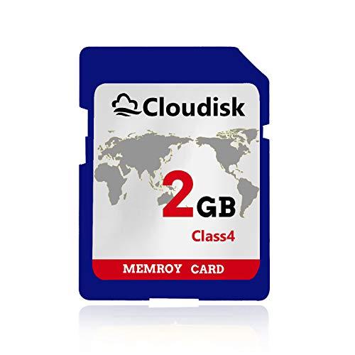 Cloudisk 2GB SD Carten UHS Flash Speicherkarten Class4 (2 GB SD Memory Card)