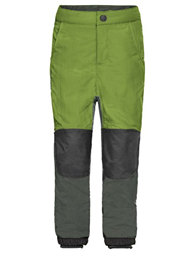 Vaude Jungen Kids Caprea Pants III Hose, Green Pepper, 122/128