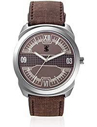 TSX Analog Watch With Leather Strap WATCH-088