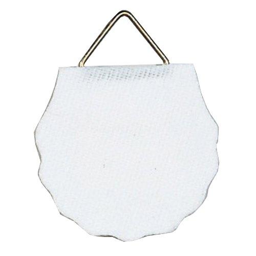Herma 5749 Bildaufhänger aus Papier, wasserlöslich gummiert (Ø 45 mm, 6 Stück) weiß, Tragkraft 1200 g