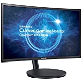 Samsung LC24FG70FQUXEN 59,8 cm (24 Zoll) Curved LED Monitor (HDMI, 1ms Reaktionszeit) schwarz