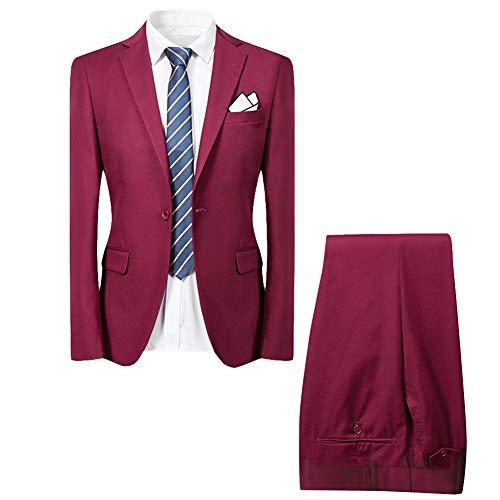 Cloudstyle smart 2 piezas ajustado ingle pecho chaqueta