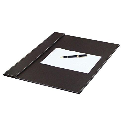 Premium Bureau d'ordinateur Pad-stylish Housse de table pour une parfaite d'écriture Surface- en cuir pour souris et clavier avec top Rail garder au Calendrier de papier ou en Place-color Marron Taille 61x 45,7cm