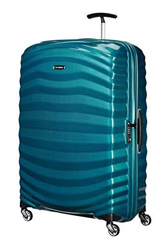 Samsonite lite-shock spinner xl valigia, 81 cm, 124 l, blu (petrol blue)