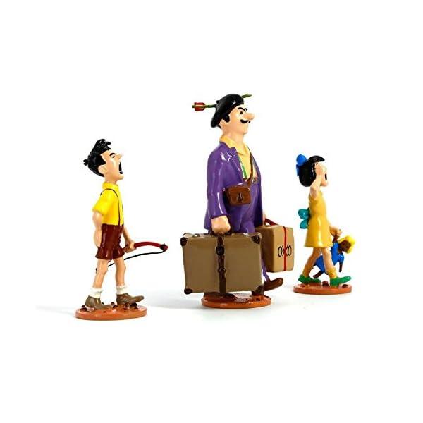 PIXI Figura Moulinsart: Tintín Serafín Latón con Sus Hijos - 46240 (2009) 2