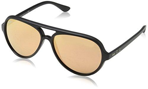 Ray-Ban Herren Sonnenbrille schwarz Matt schwarz