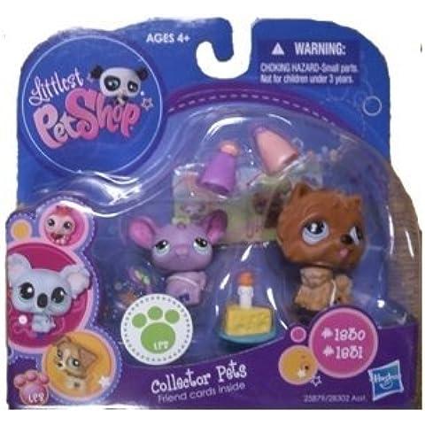 Littlest Pet Shop Collector Pet Pairs Series 1 Figures - Mouse & Dog by Littlest Pet Shop