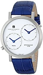 Charles-Hubert 2C Paris Charles-Hubert, Paris Unisex 3549-E Premium Collection Analog Display Japanese Quartz Blue Watch