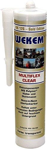 Preisvergleich Produktbild WEKEM WK 126 Multiflex clear 290 ml