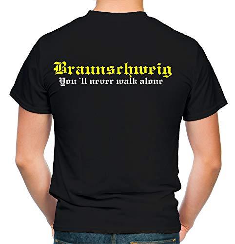 Braunschweig Kranz T-Shirt | Liga | Trikot | Fanshirt | Bundes | M2 (XXL)