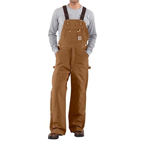 Carhartt - Latzhose, Denim - Braun Jeans Latzhosen, jeans- latzhosen männer