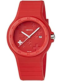 M-WATCH Maxi 42 Analog Red Dial Men's Watch-WYO.15235.RC