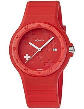 M-WATCH Unisex-Armbanduhr Maxi Swiss Analog Quarz WYO.15235.RC