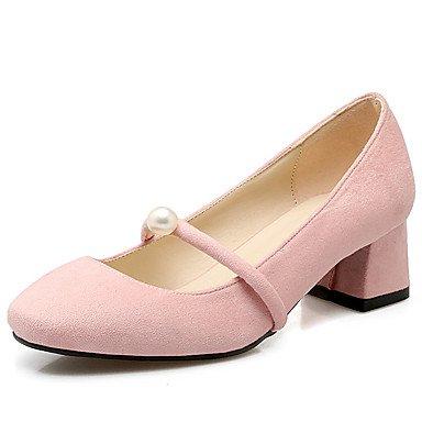 Zormey Frauen Schuhe Ferse Quadratische Spitze Perlen Slip An Der Pumpe Mehr Farbe Verfügbar US5 / EU35 / UK3 / CN34