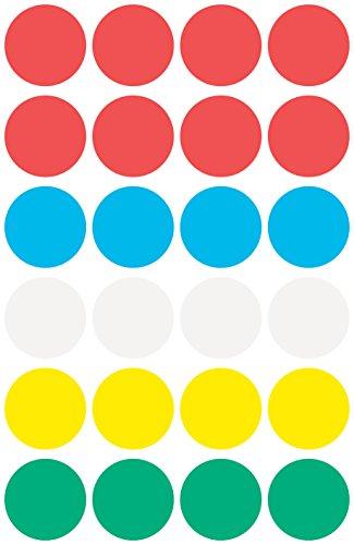 Avery Round Labels Ø 18 96pieza(s) - Etiqueta autoadhesiva (96 pieza(s))