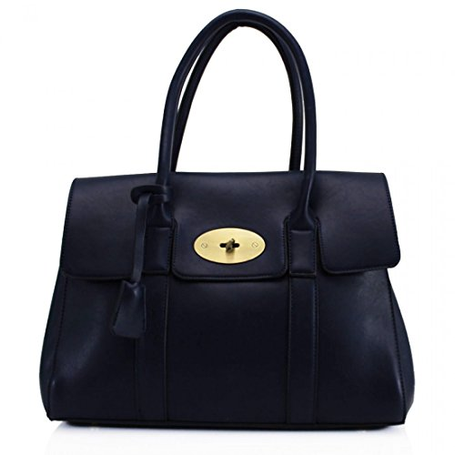 YourDezire, Borsa tote donna Large Navy