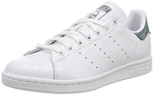 adidas Stan Smith W, Scarpe da Fitness Donna, Bianco (Blanco 000), 38 2/3 EU