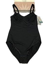 corps triomphe femme microfibre noir armature mod MOUS & FORME BSW 80% polyamide 18%élasthanne 2% polyester (EU 85-FR 100-IT 4 C)