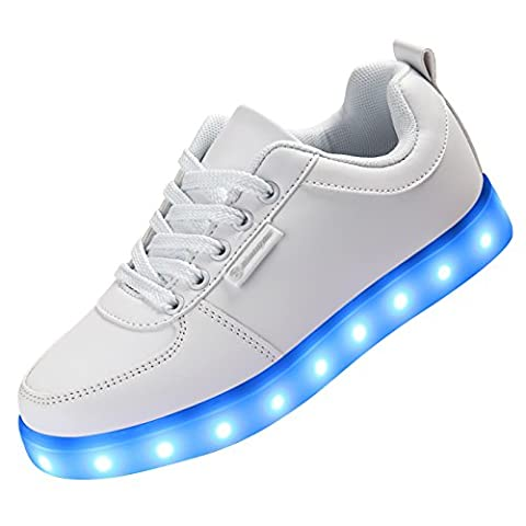 Baskets Lumineuses Homme - Angin-tech LED Chaussures Unisexe Homme Femme Chaussure
