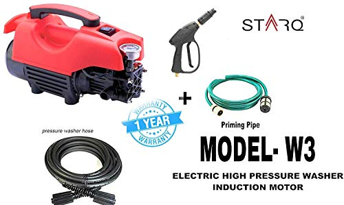 STARO W3 Electric High Pressure Washer with Copper Winding with...