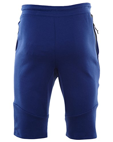 Nike Tech Fleece Short 2.0 Shorts blau/Schwarz